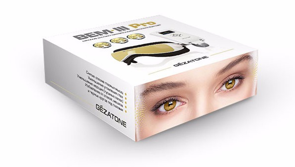 Купить массажер для глаз Gezatone BEM III PRO недорого